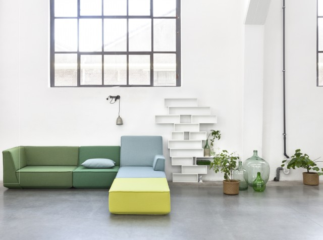 Canapé modulable couleur