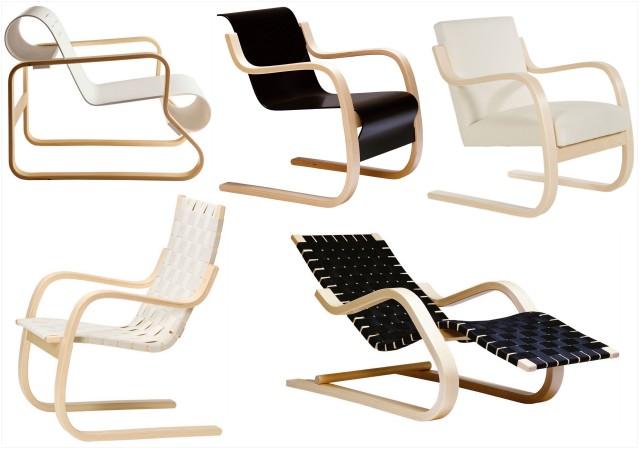les fauteuils aux pieds en bois cintr joli place. Black Bedroom Furniture Sets. Home Design Ideas