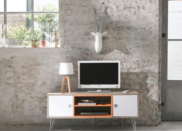 Adoptez un meuble en couleur joli place - Conforama catalogue meubles tele ...