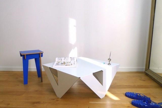 Table en bois design Jules & Pierre