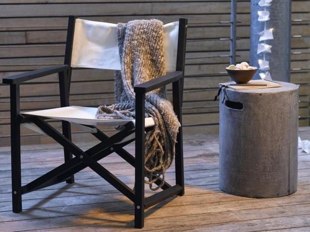 Idée déco terrasse hiver