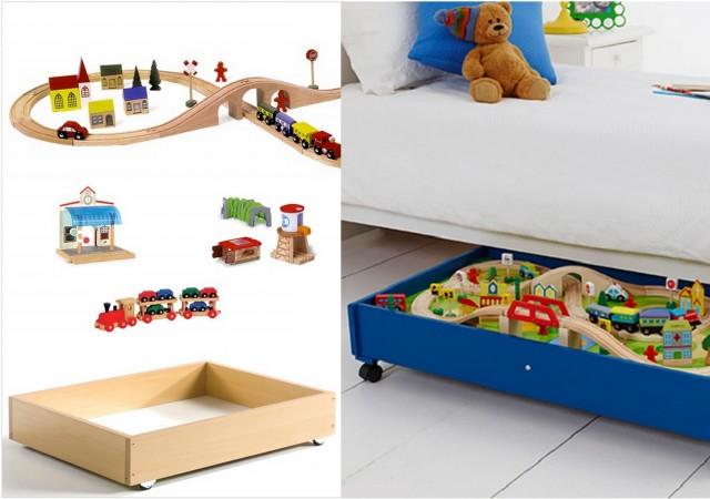 5 id es d co pour enfants piquer joli place - Rangement chambre garcon ...