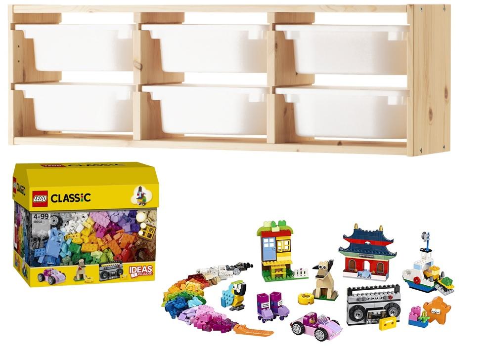 rangement pour lego des solutions fut es adopter joli place. Black Bedroom Furniture Sets. Home Design Ideas