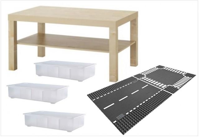 Table de jeu pour Lego