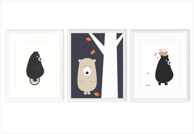 affiche-ours-chambre-enfant-bebe-garçon-etsy