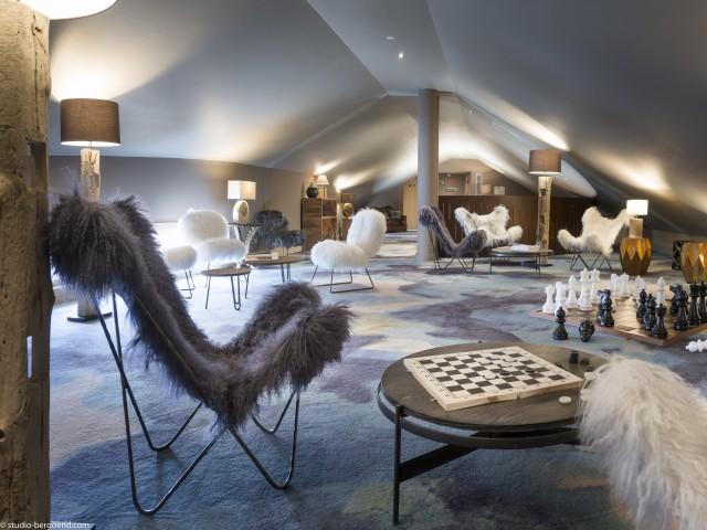 Hôtel ethnique chic à Tignes
