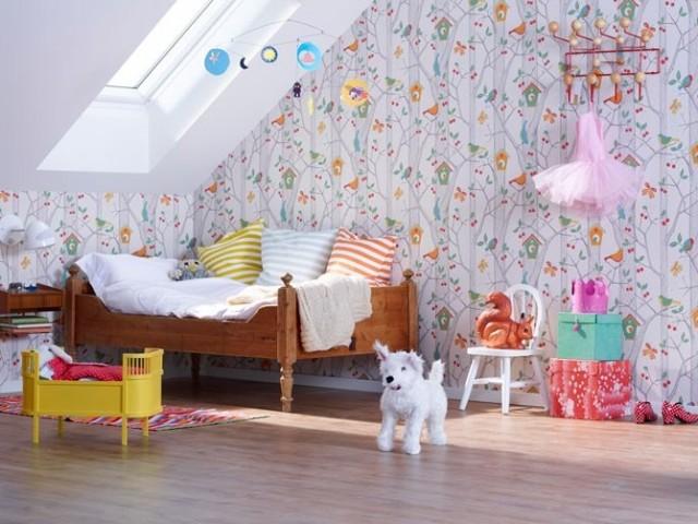 Décorer une chambre d\'enfant mansardée - Joli Place