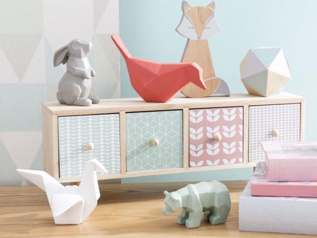 La d co fait des plis joli place for Maison du monde origami