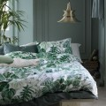 Linge de lit motif palmes