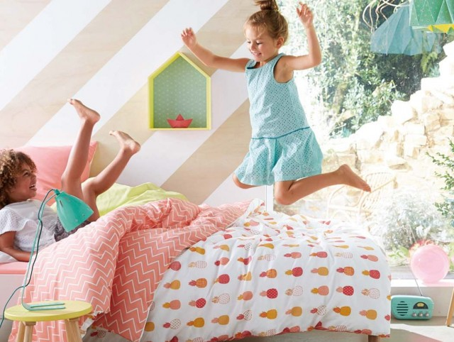 Tropicool kids joli place for Ananas deco maison