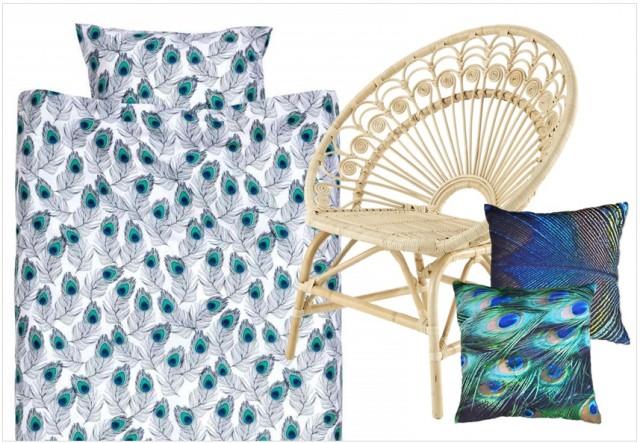 la micro tendance paon joli place. Black Bedroom Furniture Sets. Home Design Ideas