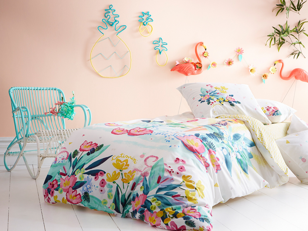 Tropicool kids : chambre enfant tropical - Joli Place
