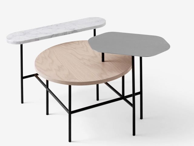 Tables basses en forme joli place - Table basse palette design ...