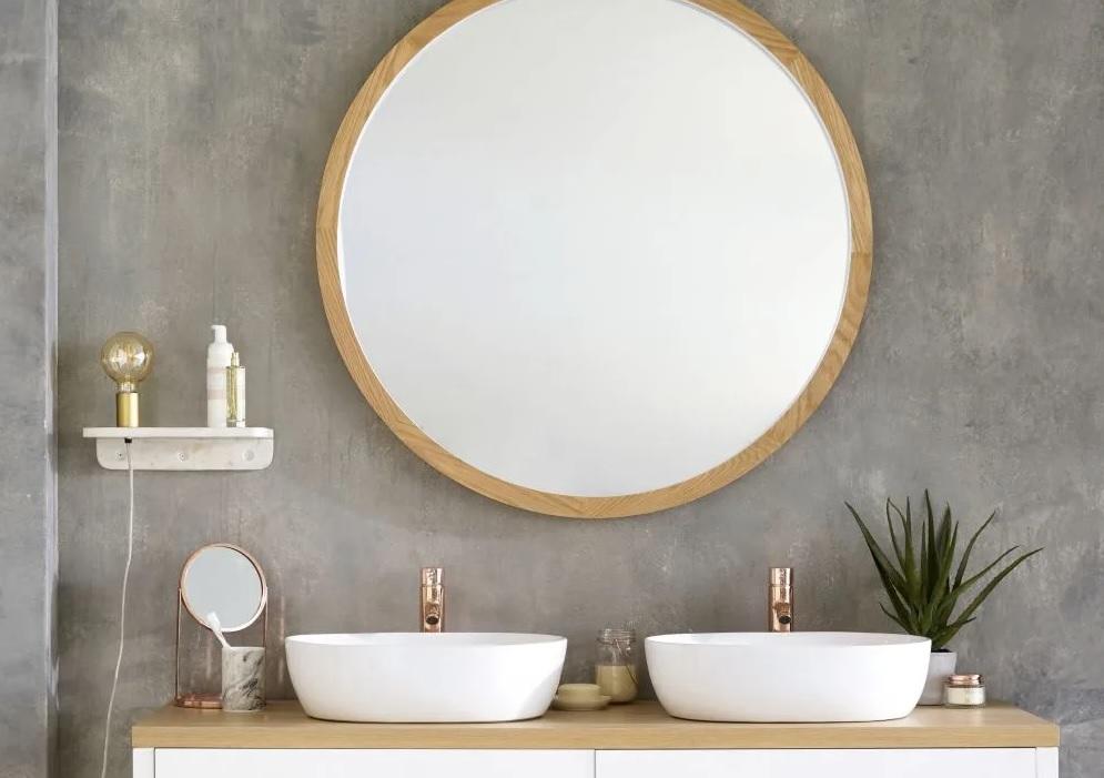 Où trouver un miroir rond XXL - Joli Place