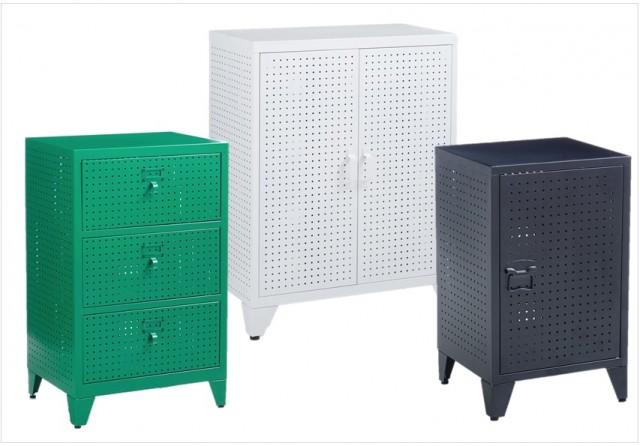 Encore des ptits trous joli place for Petit meuble metal
