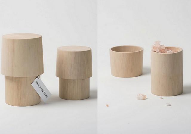 Boîte en bois design