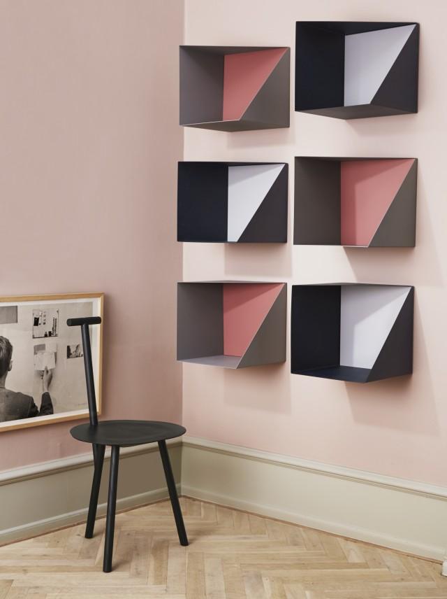 etagere design scandinave good bibliothque design scandinave en bois dewarens berra amazonfr. Black Bedroom Furniture Sets. Home Design Ideas