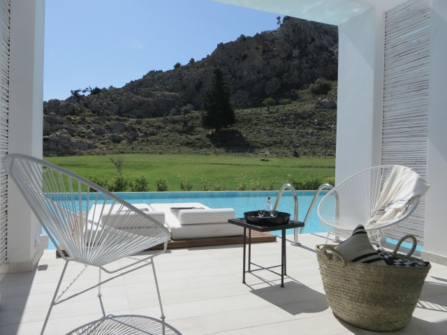 Hôtel bohème en Grèce