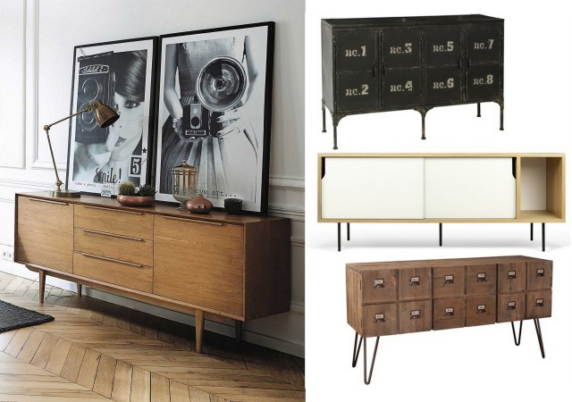 15 buffets qui ont de l 39 allure joli place - Decoration style industriel design ...