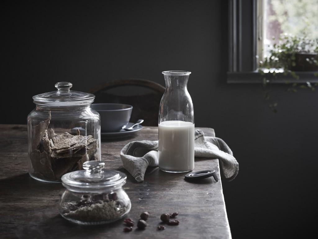 une cuisine rustique chic joli place. Black Bedroom Furniture Sets. Home Design Ideas