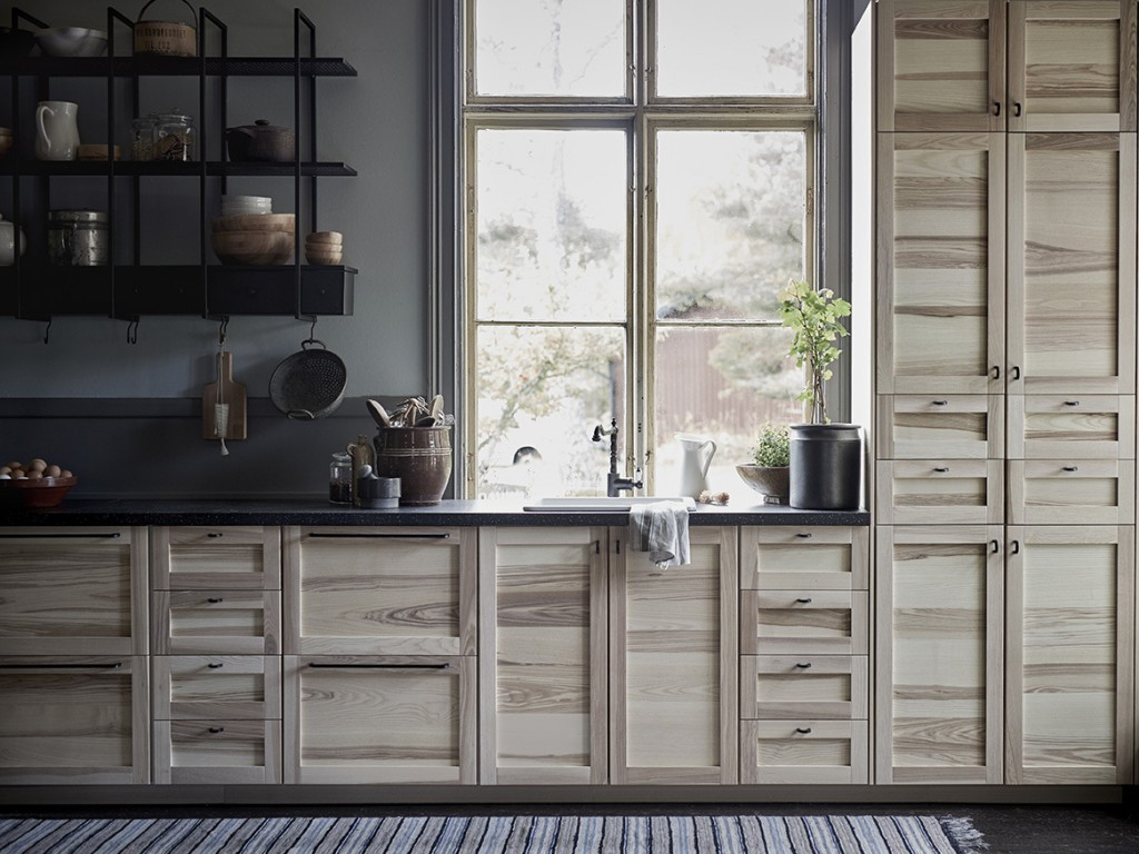 une cuisine rustique chic joli place. Black Bedroom Furniture Sets. Home Design Ideas