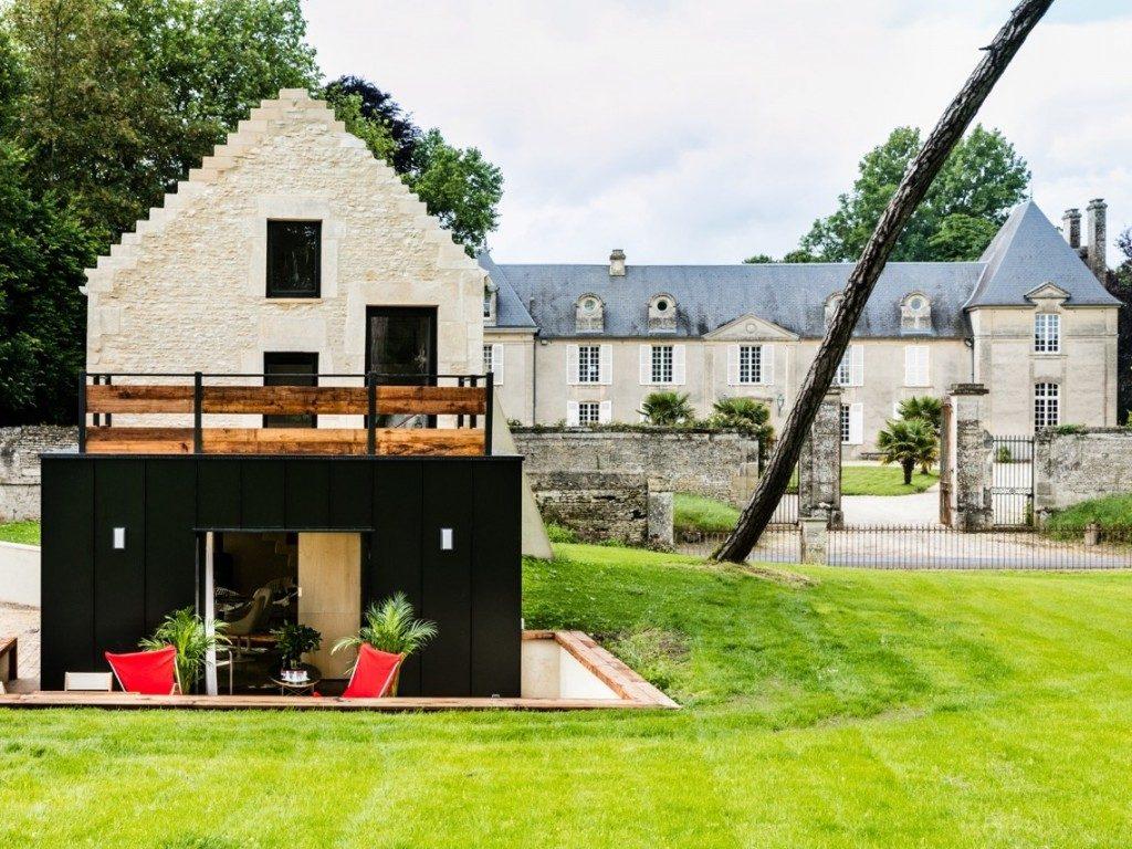 L 39 annexe mini maison d 39 h tes joli place for Annexe en bois pour maison