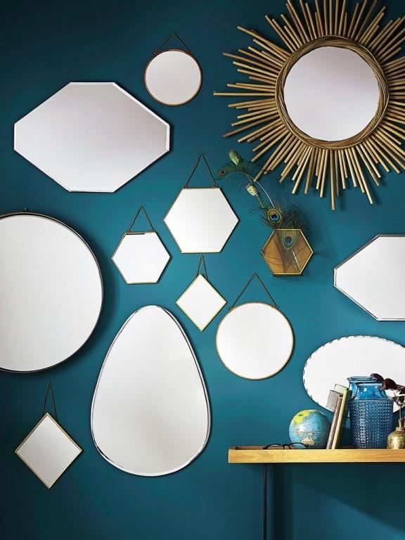 Jouer L Accumulation De Miroirs Pour D 233 Corer Un Mur