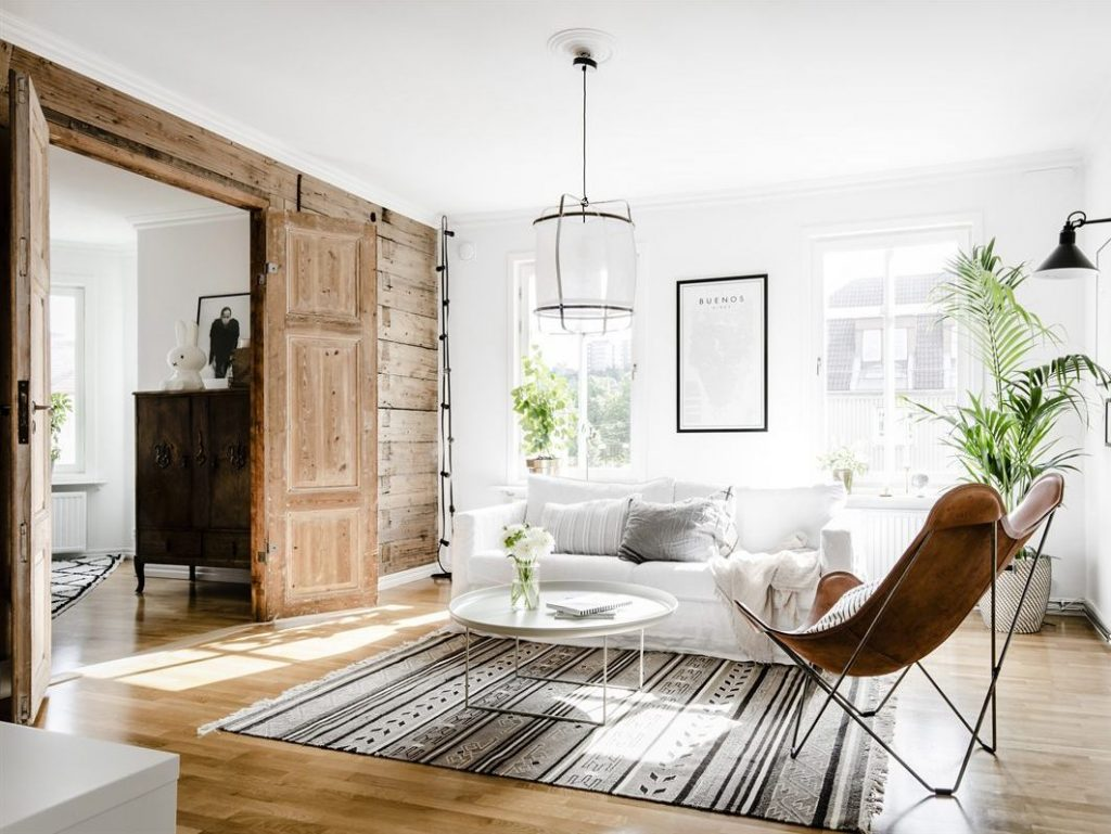 Un appartement su dois pur joli place for Style deco interieur