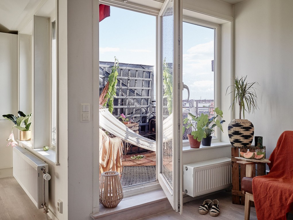 Appartement déco bohème