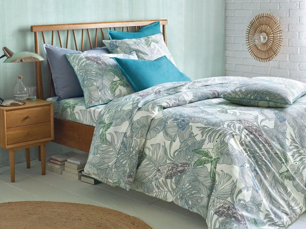 decoration tropical chambre. Black Bedroom Furniture Sets. Home Design Ideas