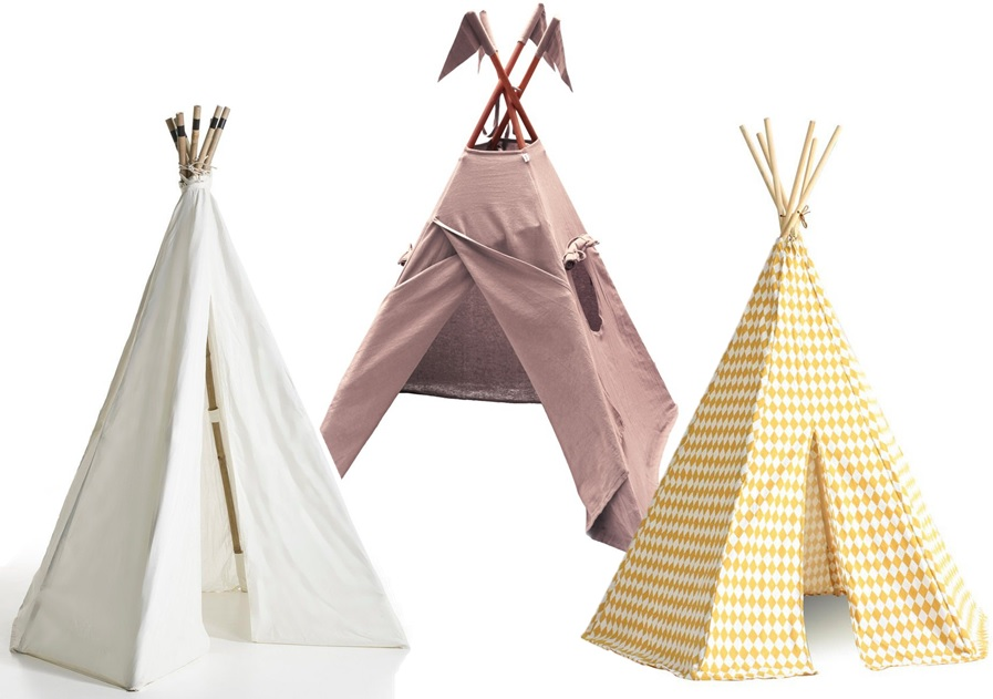 un tipi sur la plage joli place. Black Bedroom Furniture Sets. Home Design Ideas