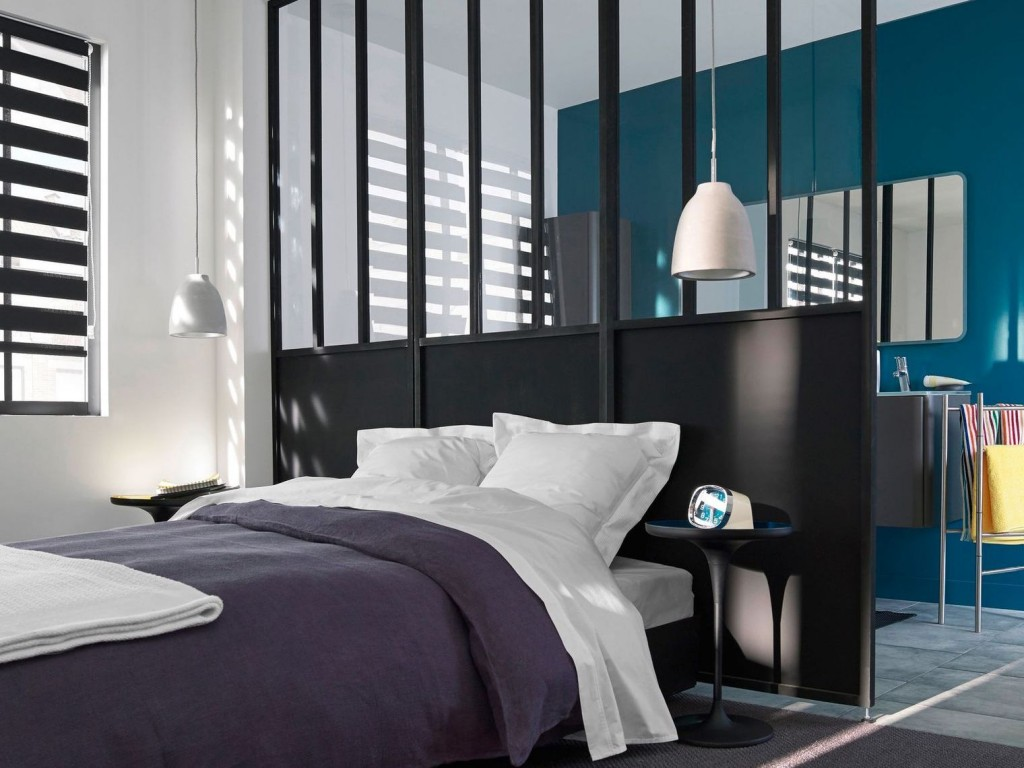 s paration de pi ce amovible id e inspirante pour la conception de la maison. Black Bedroom Furniture Sets. Home Design Ideas