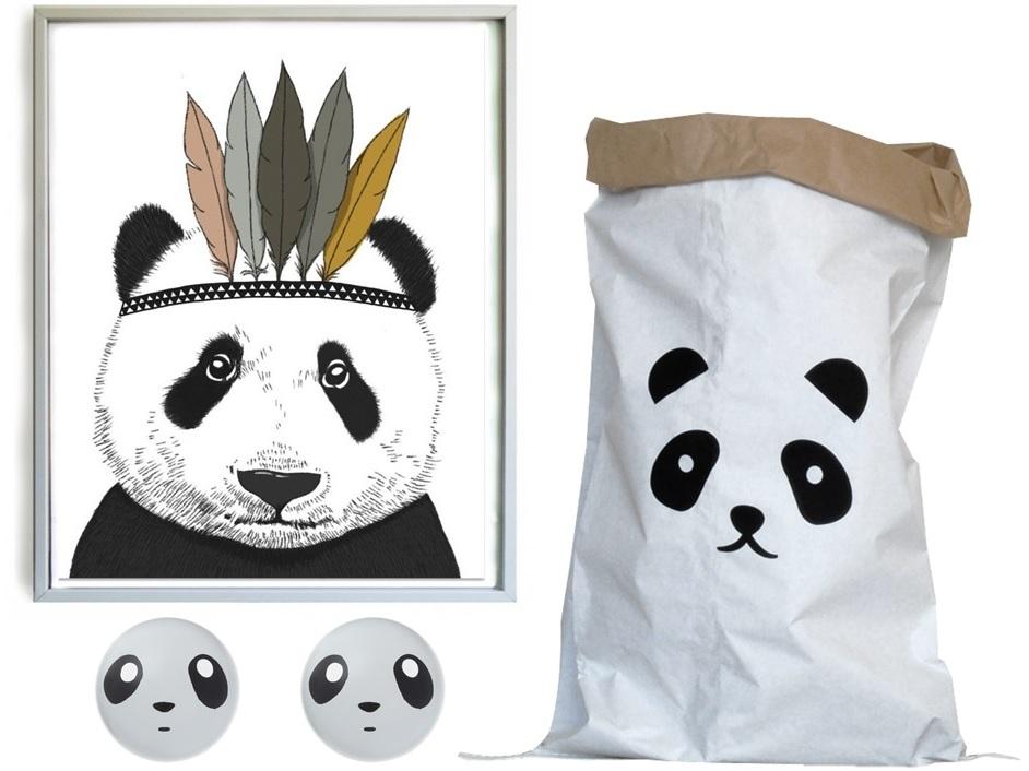 Déco chambre enfant panda