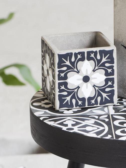 Inspirants les carreaux de ciment joli place - Pot carreau de ciment ...