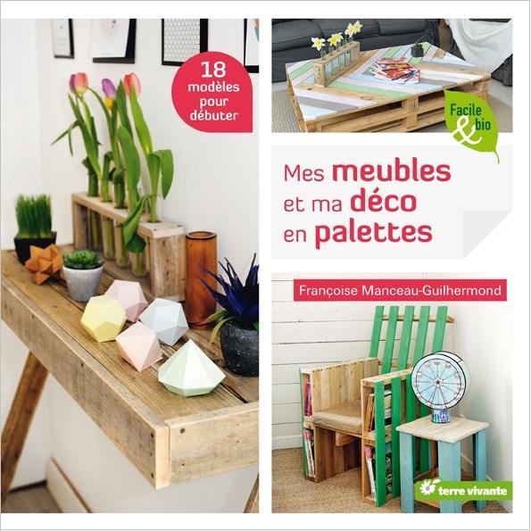 livre DIY meubles en palettes