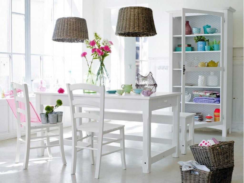 une salle manger aux teintes douces joli place - Salle A Manger Style Scandinave