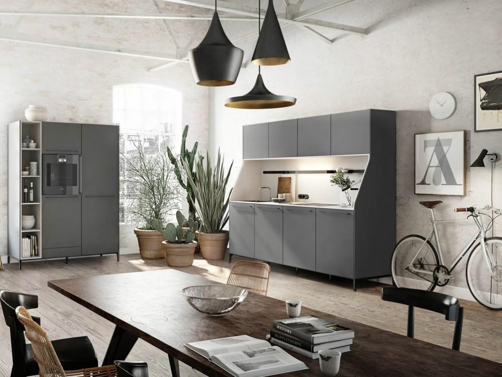 Mettez du noir dans la cuisine joli place for Deco cuisine place laurier