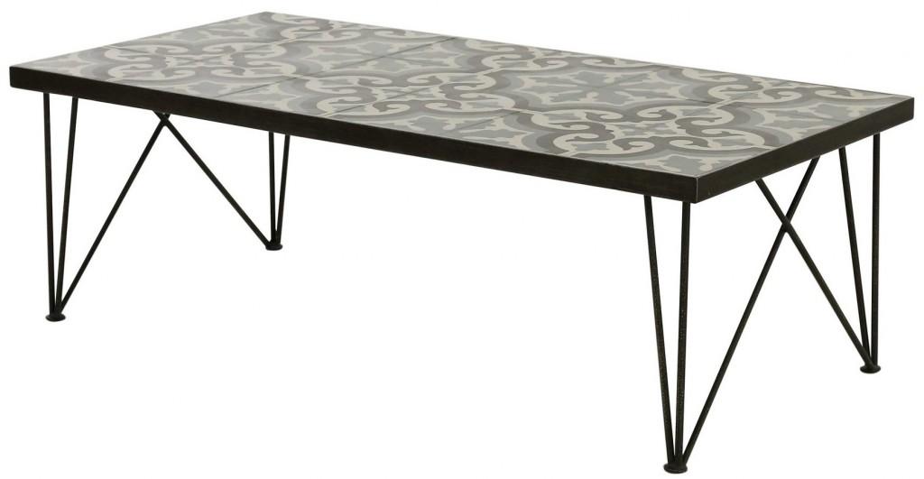 Inspirants les carreaux de ciment joli place for Deco table maison du monde