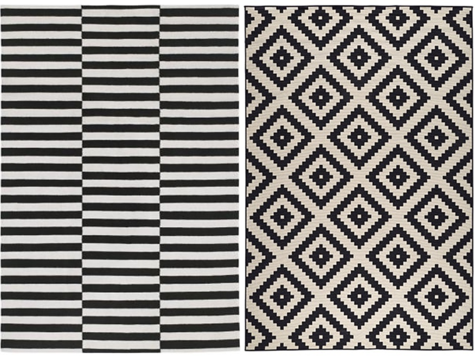 carrelage design tapis noir et blanc pas cher moderne design pour carrelage de sol et. Black Bedroom Furniture Sets. Home Design Ideas