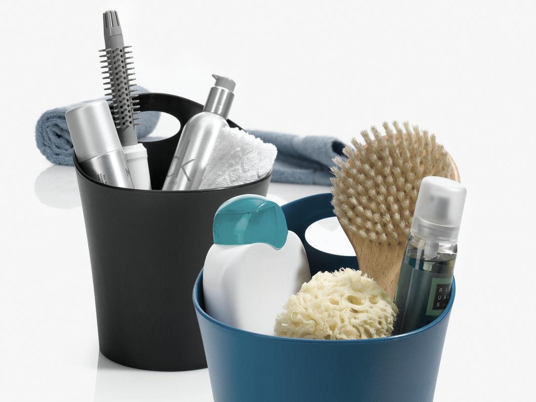 Rangements malins pour la salle de bains joli place for Panier rangement salle de bain