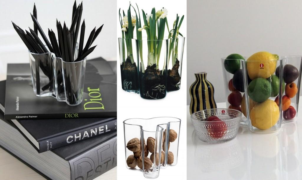 Vase design scandinave