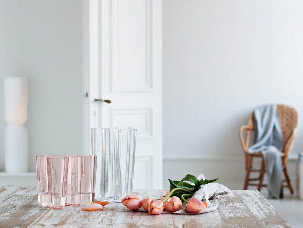 Vase design scandinave