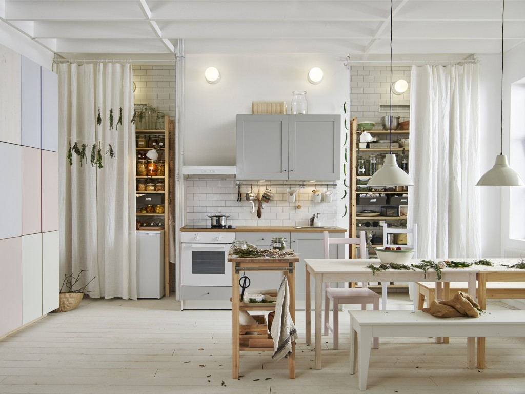 Inspirations pour une d co en blanc joli place for Deco cuisine place laurier