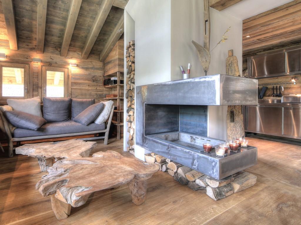 5 id es pour moderniser l 39 esprit chalet joli place. Black Bedroom Furniture Sets. Home Design Ideas