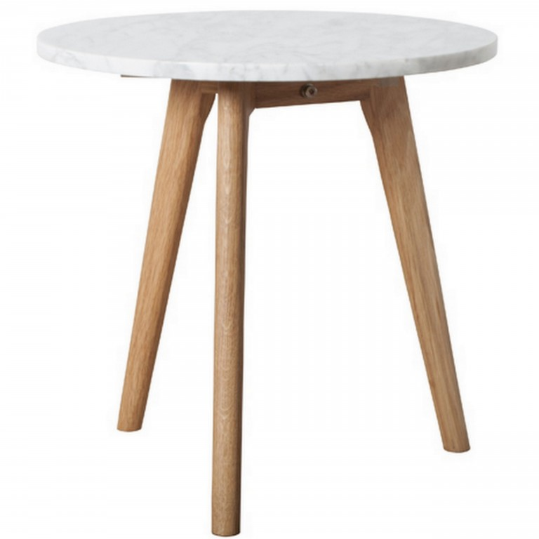 Table bois marbre