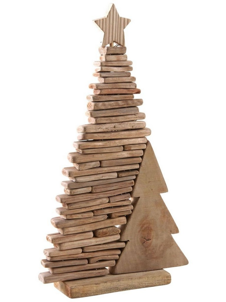 Deco Noel En Bois Naturel déco de noël en bois : les plus jolis modèles - joli place