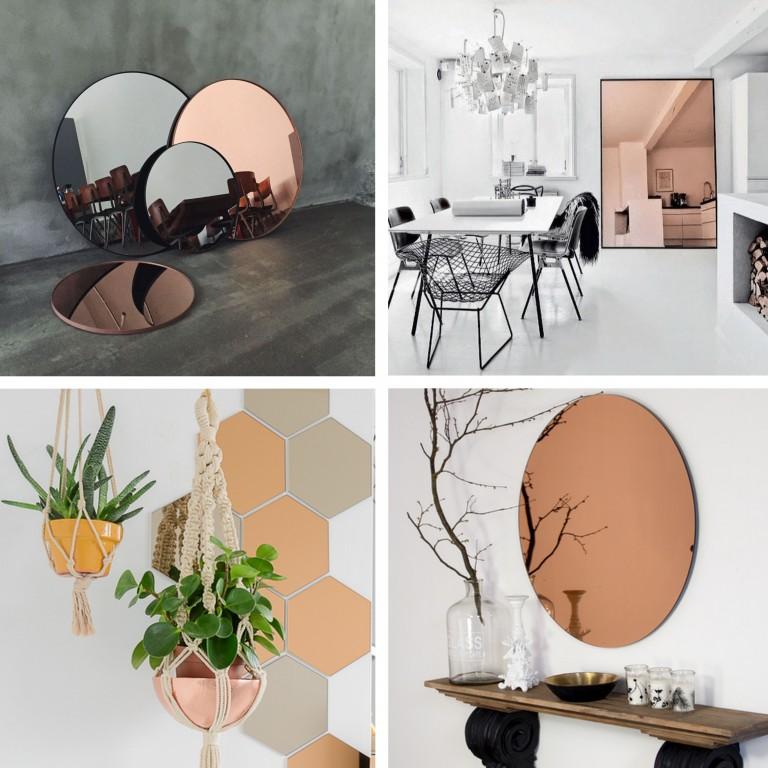 Le miroir teint nouvel incontournable joli place for Miroir tendance