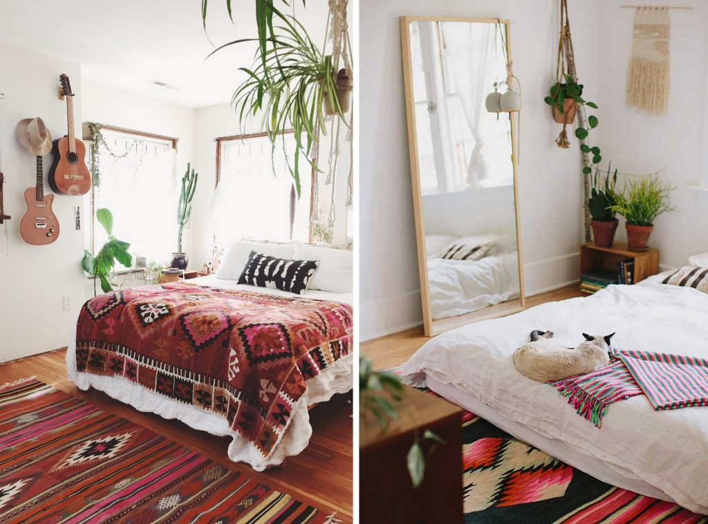 9 chambres la d co boh me joli place for Idee deco retro chic