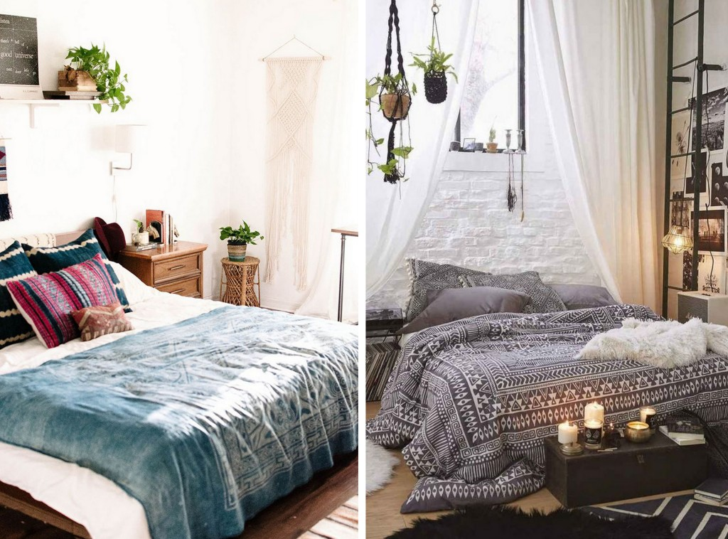 9 chambres la d co boh me joli place for Idees decoration chambre