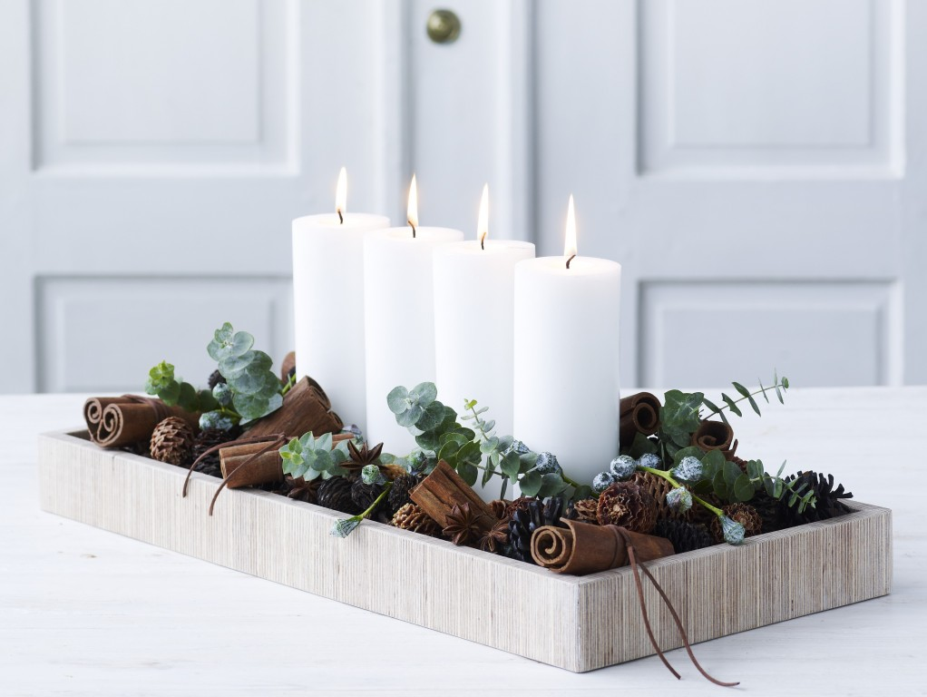 7 id es d co tr s nature pour no l joli place - Idee de decoration de table pour noel ...